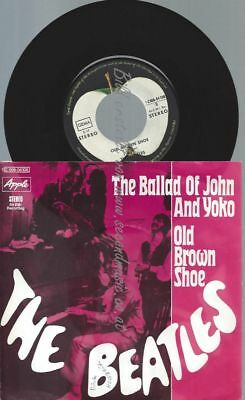 "7""    The Beatles ‎– The Ballad Of John And Yoko"
