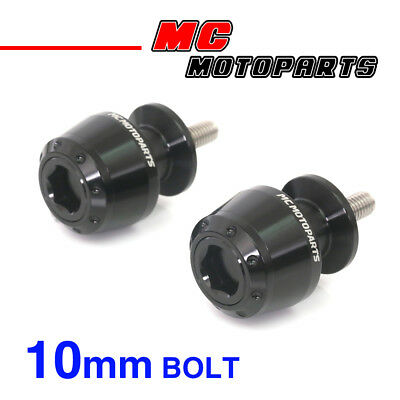 ATOM Black CNC Swingarm Spools Sliders For Kawasaki VERSYS 650 2008-2014 08 09
