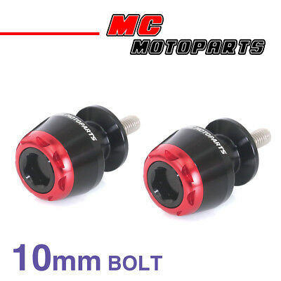 MSHINE Red CNC Swingarm Spools Sliders For Kawasaki ZX-9R 1998-2003 98 99 00 01