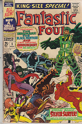 Fantastic Four   No 5   King Size Special  November  1967