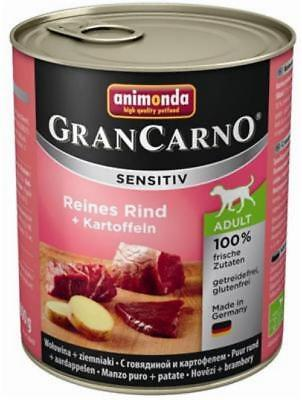 Animonda GranCarno Adult Sensitive Rind + Kartoffeln 6 x 800g