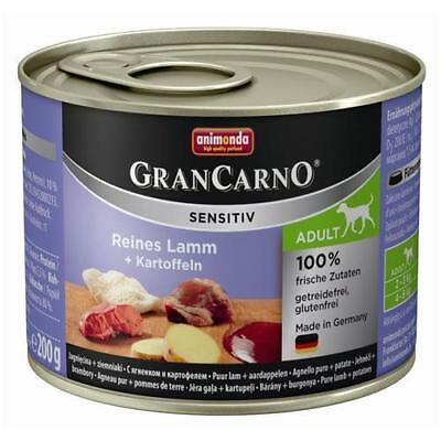 Animonda GranCarno Adult Sensitive Lamm + Kartoffeln 6 x 200g