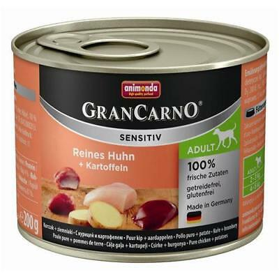 Animonda GranCarno Adult Sensitive Huhn + Kartoffeln 6 x 200g