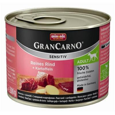 Animonda GranCarno Adult Sensitive Rind + Kartoffeln 6 x 200g