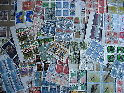Canada 50 used blocks of 4 or more mixture (duplicates, mixed condition)