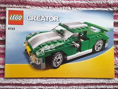 Lego Technic 9390 Racing Car Instructions Only 399 Picclick Uk