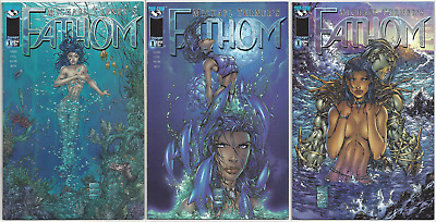 Fathom #1 ~ Bubbles, Dolphin AND Killian Cover ~ NM- to NM or Better!!