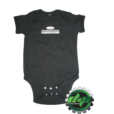 Ford Powerstroke baby infant toddler outfit onezie sleeper cruiser 12 months