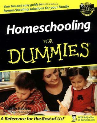 Home Schooling for Dummies by Jennifer Kaufeld | Paperback Book | 9780764508882