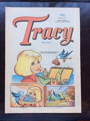 TRACY COMIC. No. 199. 23 JULY 1983 VFN+. Unsold Newsagents Stock.