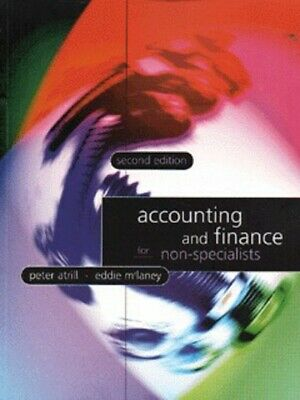 Accounting and finance for non-specialists by Atrill (Paperback / softback)