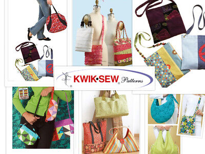 HANDBAG PURSE SEWING Patterns McCall\'s Easy Simplicity English ...