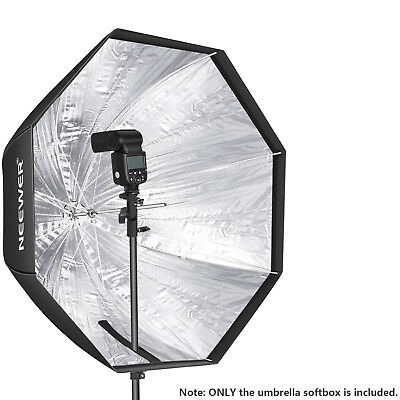 Neewer Octagon 120cm Honeycomb Softbox Bowens Mount für Studio Strobe Flash