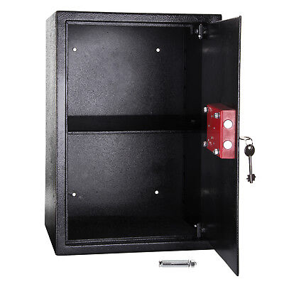High Security Safes Key Safety Box Home Office Money Cash Safe 7 Lever Lock UK