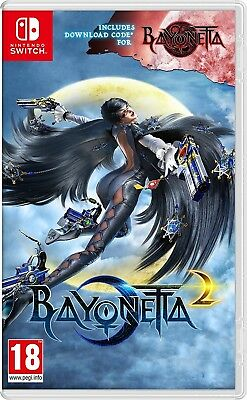 Bayonetta 2 + Bayonetta Digital Code SWITCH