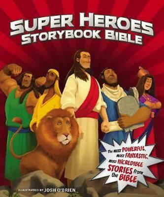 Super Heroes Storybook Bible by Jean E. Syswerda Hardcover Book Free Shipping!