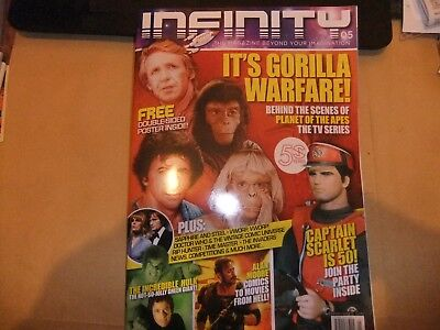 Infinity 5 Mag Gerry Anderson Captain Scarlet Roy Thinnes The Invaders Mysterons