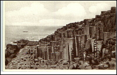 Nordirland Giant´s Causeway ~1930 Lord Antrims Parlour