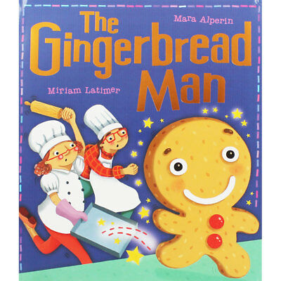 The Gingerbread Man by Mara Alperin (Paperback), Multibuys, Brand New
