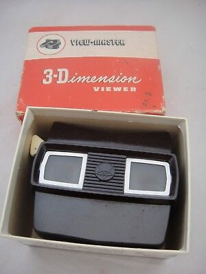 Lovely Vintage Bakelite Sawyers Viewmaster Viewer in Original Box