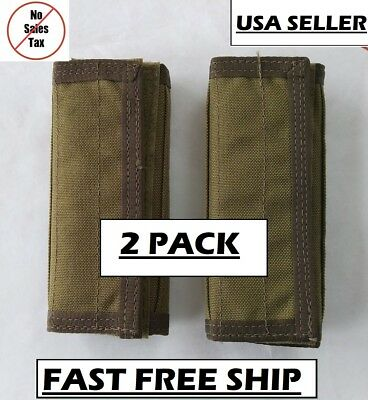 2 PACK SFLCS eagle industries CIRAS shoulder pads plate carrier vest khaki MLCS