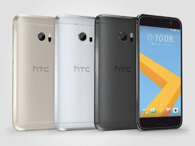 HTC 10 Carbon Gray Silver Gold Red 32GB 64GB Unlocked Smartphone With Warranty