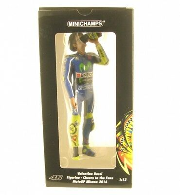 Valentino Rossi Figurine - Cheers to the Fans - MotoGP Misano 2016