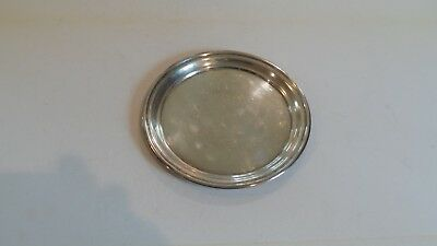 "Randahl Sterling Silver 7.5"" Salver Tray Teapot Stand #65, 185 grams"