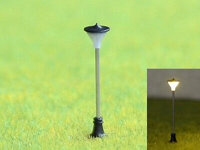 S588 - 10 pcs Streetlights with LED for 12-19V Variable Height Von 3cm Bis 4cm