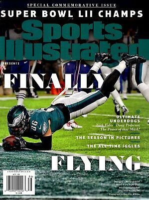 Sports Illustrated Magazine Commemorative 2017 Champions PHILADELPHIA EAGLES