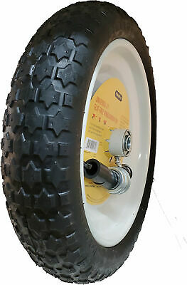Marathon Flat Free Wheelbarrow Tire Universal Fit Model# 00265-NTE