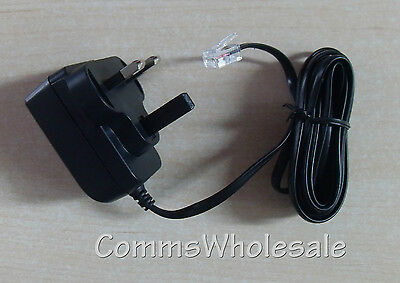 BT 7600 BT 7610 Cordless Phone Power Supply 066773 for Main Base & Charger Pod