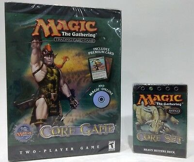 Magic The Gathering 8th Edition * Heavy Hitters Theme deck and 2 player Core set