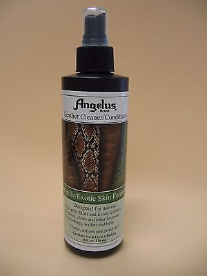 Angelus Reptile/Exotic Leather Cleaner And Conditioner 8 Fl. Oz. Pump spray