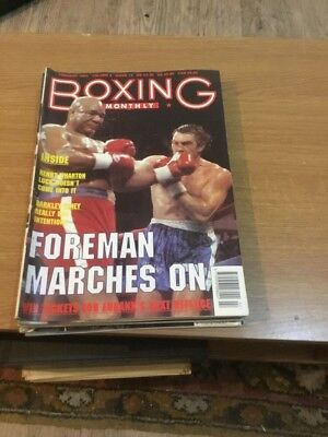 Boxing Monthly February 1993 Vol 4 Issue 10 Magazine A4