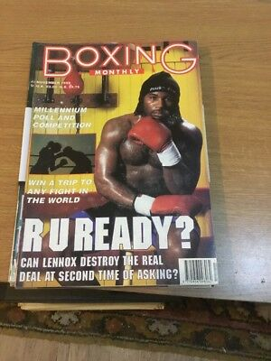 Boxing Monthly November 1999 Vol 11 Issue 7 Magazine A4