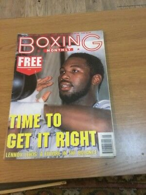 Boxing Monthly May 1994 Vol 6 Issue 1 Magazine A4