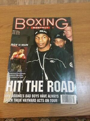 Boxing Monthly May 2000 Vol 12 Issue 1 Magazine A4