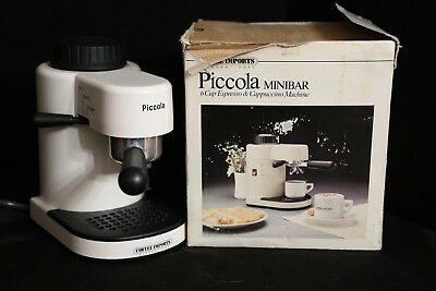 Piccola MiniBar 6 Cup Espresso and Cappuccino Machine Mini Bar
