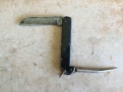 Vintage BOY SCOUT Clasp Knife - Made in Germany - Marlin Spike
