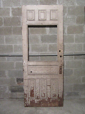 ~ Nice Antique Victorian Door ~ 36 X 89  ~ Architectural Salvage ~