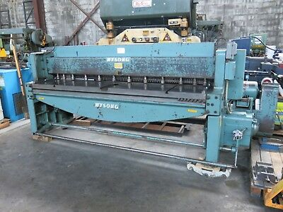 Wysong 8' of 10ga Shear with Squaring Arm