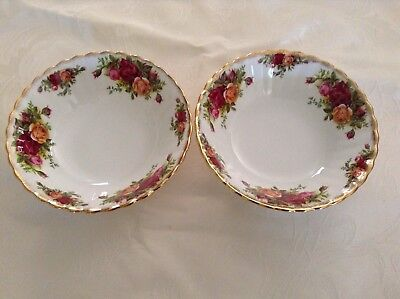 Royal Albert Old Counrty Roses Soup Dessert Bowl Replacement Pieces