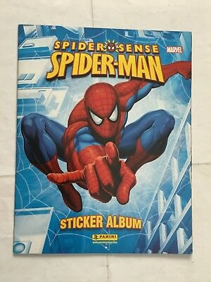 Spider Sense Spider-Man  Sticker Album Completo In Inglese Panini Marvel