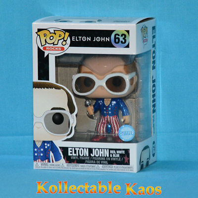 Elton John - Elton John in Glitter Red, White and Blue Suit Pop! Vinyl (RS)