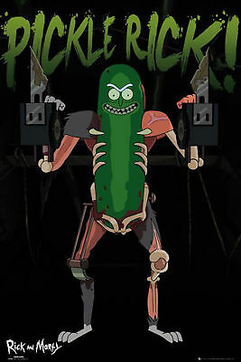 Rick and Morty - Pickle Rick - Poster Plakat Druck - Größe 61x91,5 cm