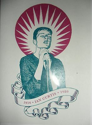 IAN CURTIS / JOY DIVISION  *  1956  - 1980  *  Graphic Greeting Card NEW / BLANK