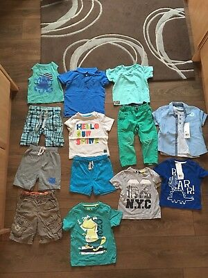 Baby boy mixed summer clothing bundle age 12-18 months EXC CDTN
