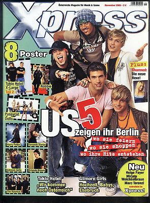XPRESS November 2005 Robbie Williams, US5, Orlando Bloom, Harry Potter TOP Z0-1