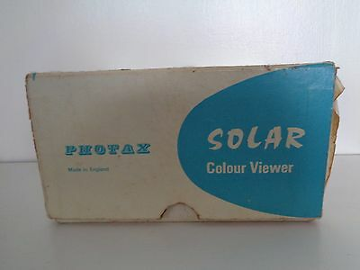 Vintage Solar 2 Colour slide viewer